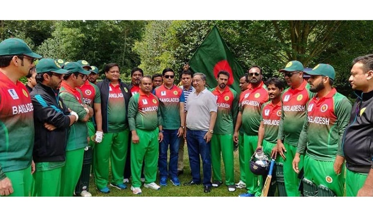 Bangladesh register 2nd victory in Inter-Parliamentary Cricket World Cup