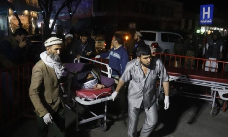 Child suicide bomber kills 5 at Afghan wedding