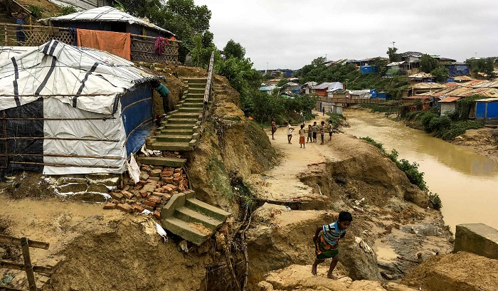 IOM scales up activities as 22,000 Rohingyas affected in rain