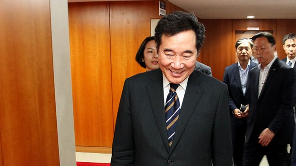 South Korean Prime Minister Lee due today