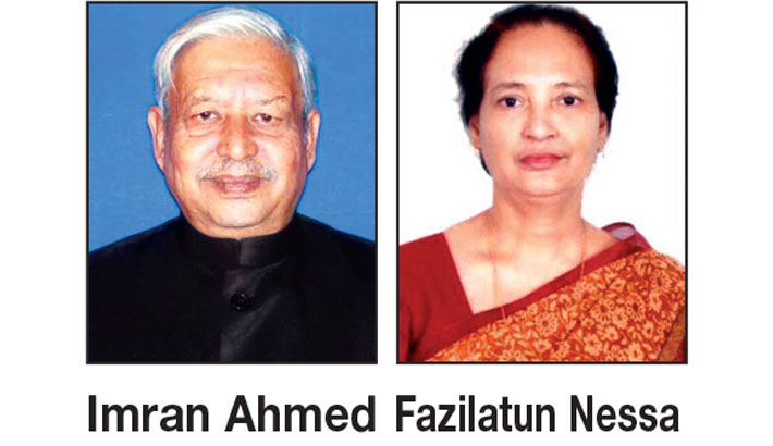 Two cabinet members take oath today