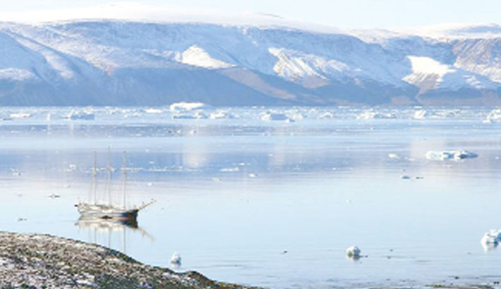 Climate change threatens Greenland's archeological sites
