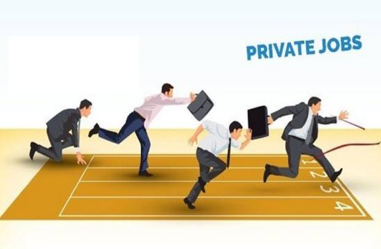 Good news for private jobholders