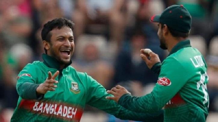 Shakib in BBC's team of the tournament