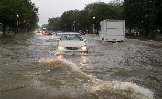 Met Office forecasts very heavy rainfall
