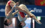 Chinese divers plunder triple gold at world championships