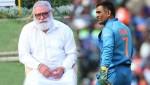 Yuvraj Singh's father YograjSingh blames Dhoni for India WC exit