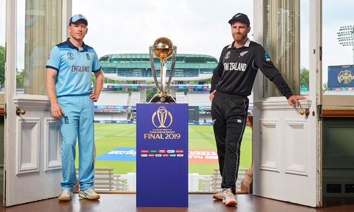 New Zealand choose to bat in World Cup final