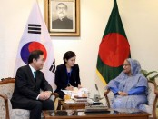 Prime Minister seeks Seoul's support for early resolution of Rohingya crisis