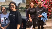 Kohli, Anuska passing happy moments in London
