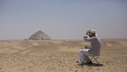 Egypt's Bent Pyramid opens to visitors