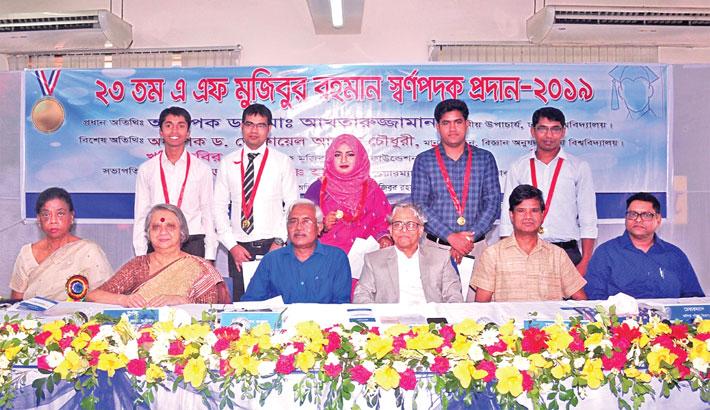 Five DU students receive 'AF Mujibur Rahman Gold Medal'
