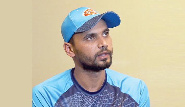 Mashrafe eager to book Lanka tour spot