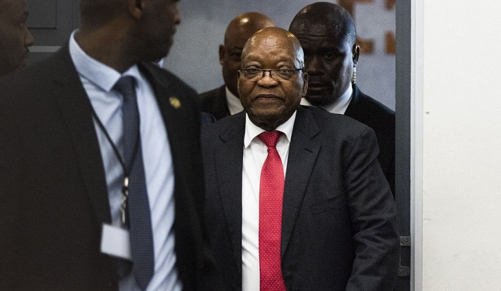 South Africa's graft-accused Zuma claims he has been 'vilified'