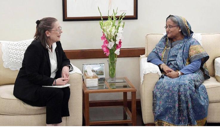 UN, int'l bodies should work inside Myanmar for Rohingyas' return: PM