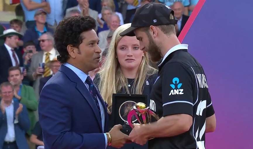 Kane Williamson declared Player of the Tournament