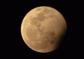 Partial lunar eclipse on July 17