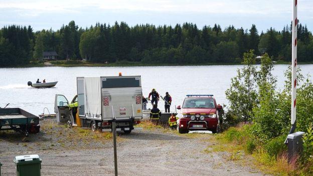 Skydiving plane crash kills nine in Sweden