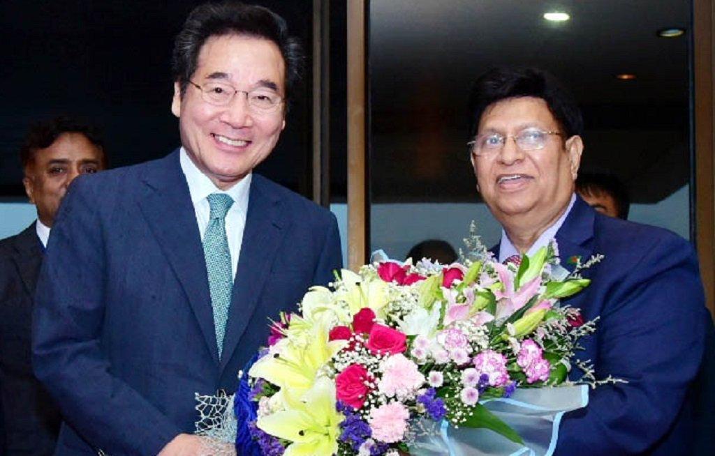 Korean Prime Minister leaves Dhaka