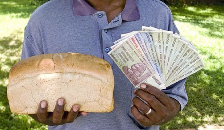 Zimbabwe inflation rate soars to 175%