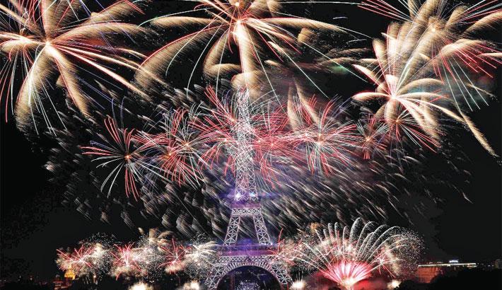 Annual Bastille Day celebrations