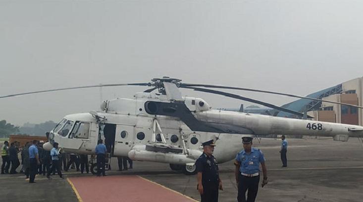 HM Ershad's body taken to Rangpur