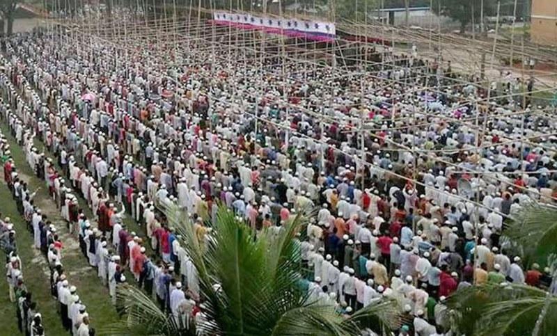 Ershad's janaza held in Rangpur
