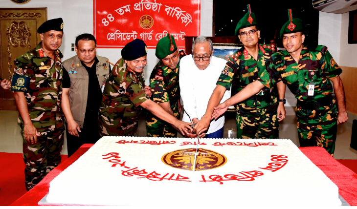 Work to retain the glory of PGR: President