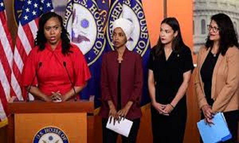 Congresswomen hit back after Trump's tweets branded racist