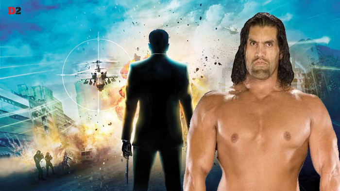 """The Great Khali signs to act in """"Masud Rana"""""""