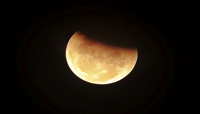 Partial lunar eclipse visible in Bangladesh on Wednesday