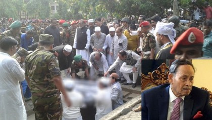 HM Ershad laid to rest in his hometown