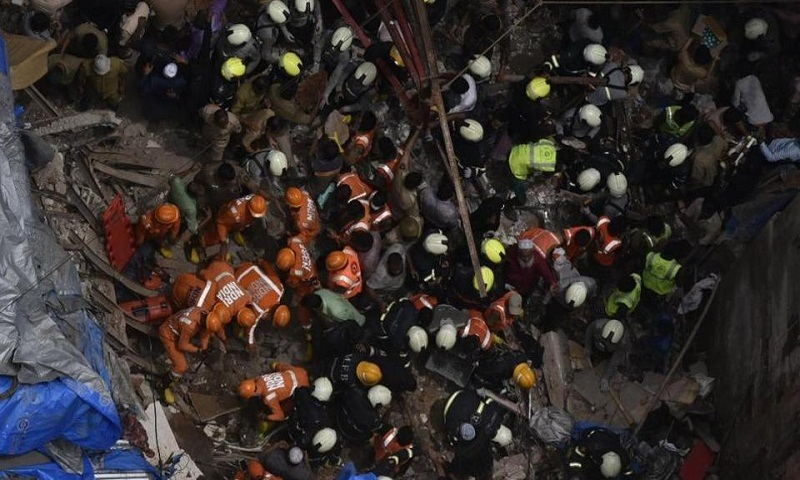 Death toll in Mumbai building collapse rises to 13