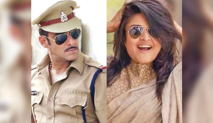 Salman to romance Manjrekar's daughter in Dabangg 3