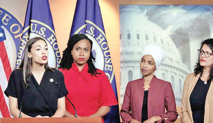4 congresswomen hit back after 'racist' Trump tirade