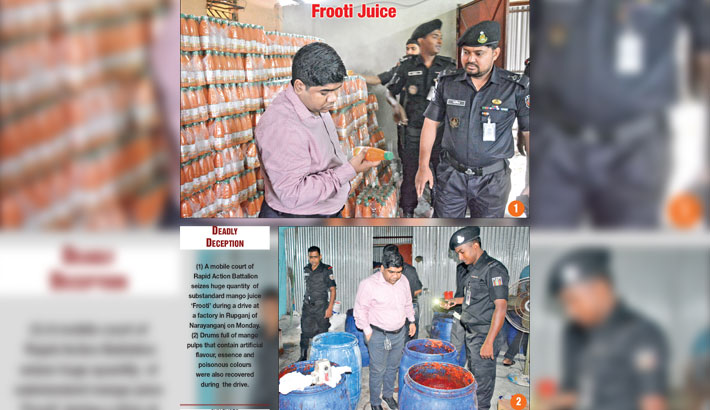 Factory fined Tk 2m for food adulteration