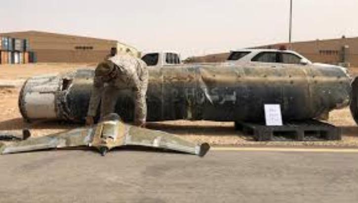 Saudi Arabia intercepts drone launched by Yemeni rebels