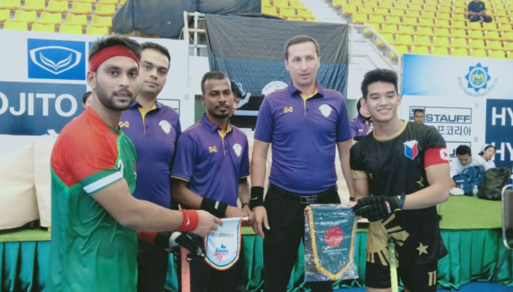 Bangladesh clinch maiden win beating Philippines 9-0