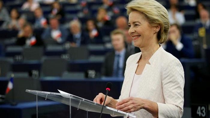Von der Leyen elected EU Commission head after MEPs vote