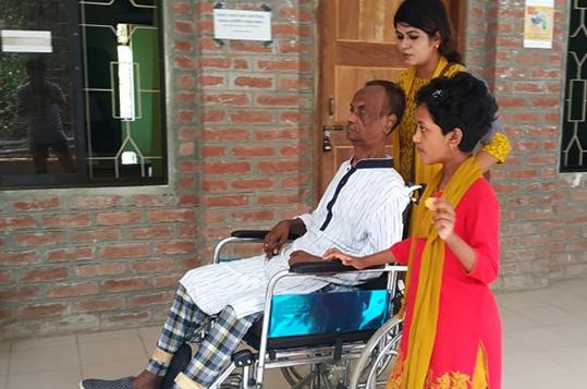 Music composer Alauddin Ali returns home from CRP