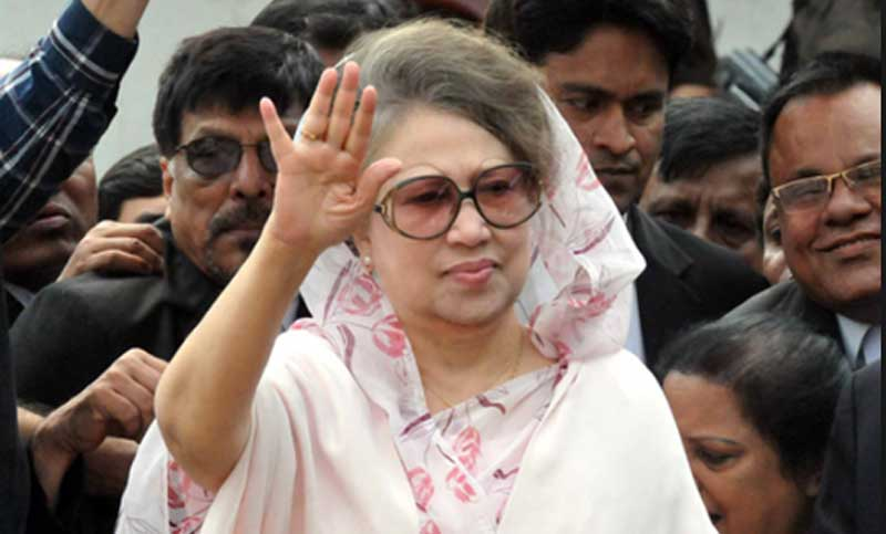 Khaleda's appearance in 11 cases on September 2