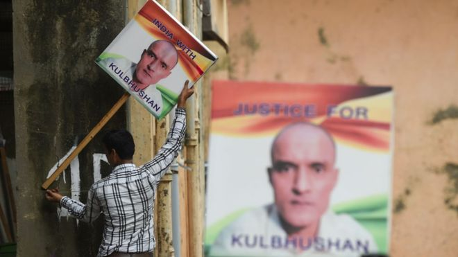 Pakistan told to review Kulbhushan's case
