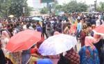 DU students stage demo demanding scrap of 7 colleges affiliation