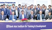 Bank Asia holds training programme