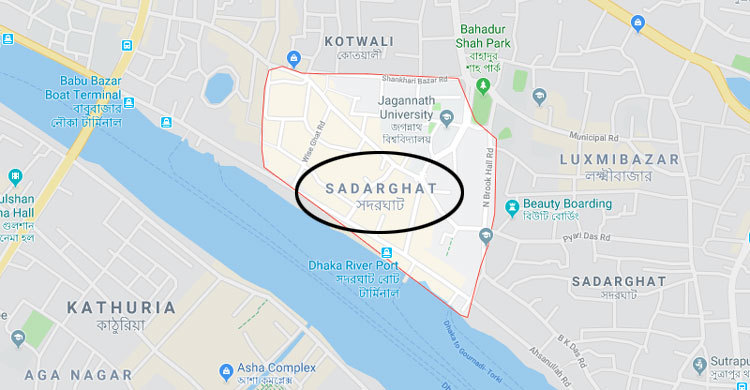 Multiple people hurt after roof collapses at Sadarghat