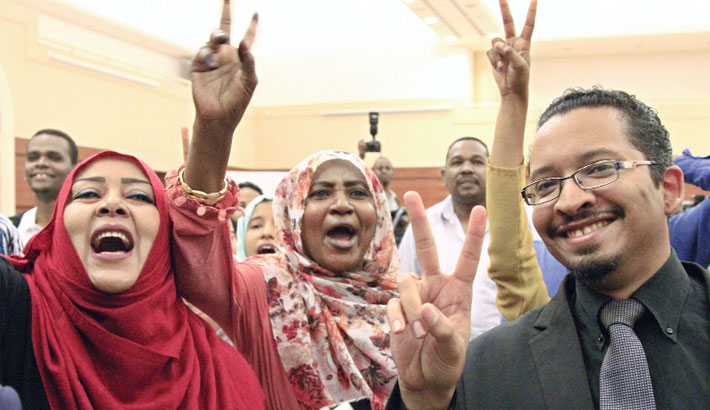 Sudan protesters, army rulers sign power sharing deal