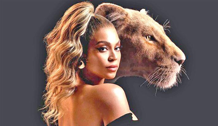 Beyonce debuts new Lion King music video