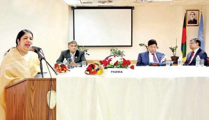 Bangladesh on right track to attain SDGs: Speaker