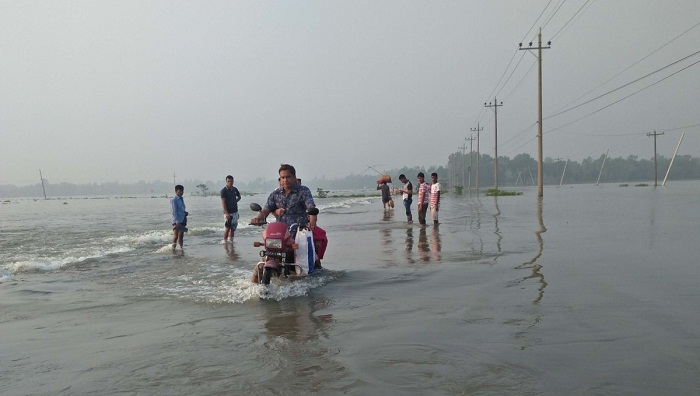 Flood condition continues to worsen in northern, some central districts