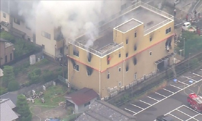 Kyoto Animation fire: At least 33 dead after suspected arson attack
